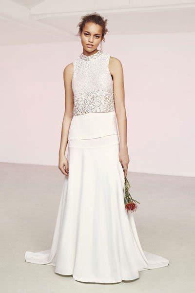 Hochzeitskleider Gã Nstig by Hochzeitskleider G 252 Nstig Zweiteiliges Kleid Asos