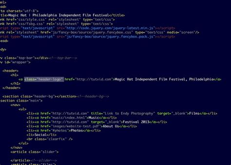 css tutorial link css tutorial image replacement link logo to homepage
