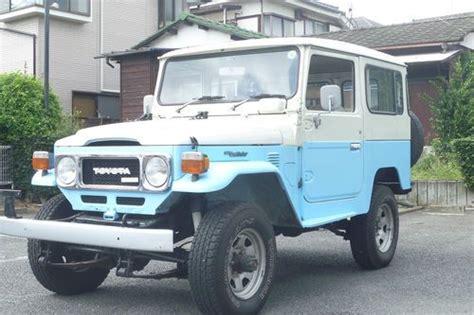 1980 Toyota Diesel Sell Used 1980 Toyota Land Cruiser Bj41 Diesel Rhd Fj40