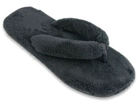 ladies slippers shoe fuzzy flip flop bedroom thong soft