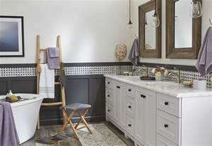 designer bathroom makeover relaxed traditional style powder room design options with different vanity cabinets and