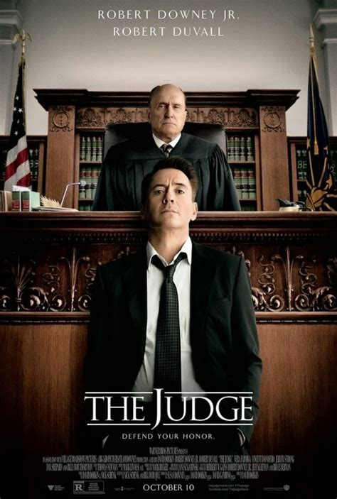 with the judge the judge poster teaser trailer
