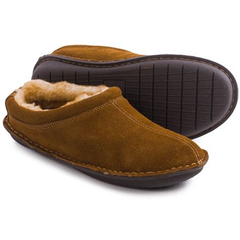 mens slippers tempur pedic isobar suede clog slippers for save 62