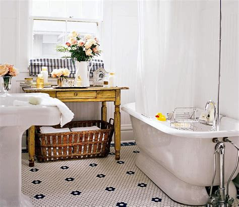 Vintage Style Bathroom Decorating Ideas Tips Vintage Style Bathroom Accessories
