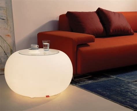3d Seat Cushion Volcanic Glass illuminated furniture table or seat moree