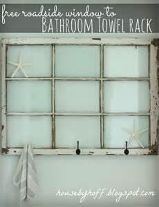 bath towel racks shelves 7 spectacular uses for windows