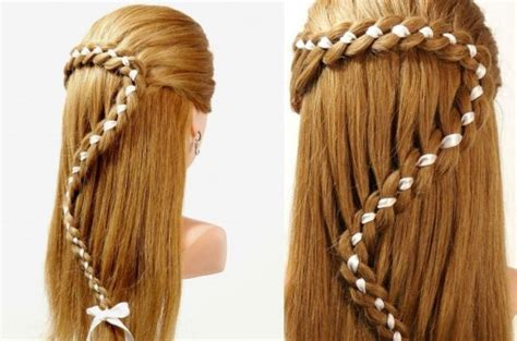 Beautiful Easy Hairstyles by Beautiful Easy Hairstyles Step By Step Www Pixshark