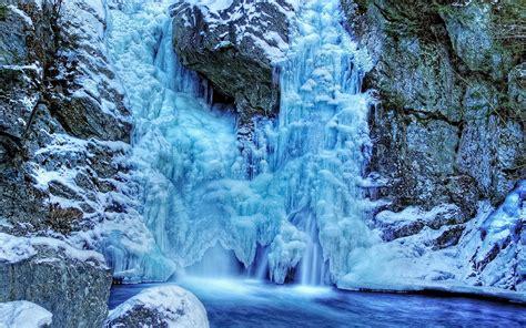 frozen waterfall wallpaper frozen waterfall wallpaper android apps on google play