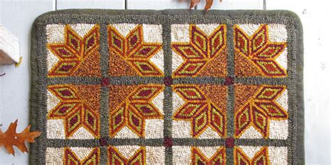 traditional rug hooking stitching with designers creativ festival