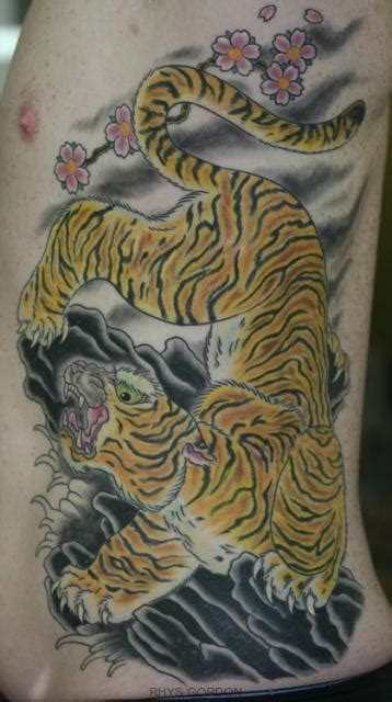 japanese tiger tattoo meaning meaning japanese tiger