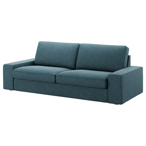 three seat couch cover kivik cover three seat sofa hillared dark blue ikea