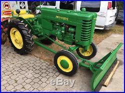 john deere plow » stunning 1949 john deere model m tractor