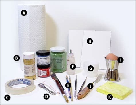 supply list and sources for egg tempera painting tempera painting materials images
