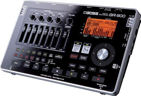 digital with hd recording br 800 multitrack digital recorder new