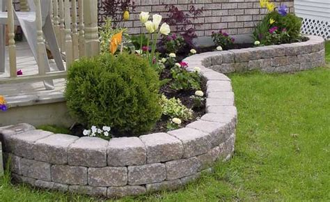 garden blocks for retaining wall retaining wall products ab garden wall collection by