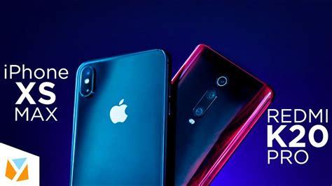 redmi  pro  iphone xs max comparison review youtube