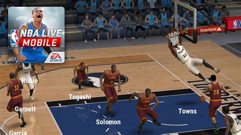 live mobile nba live mobile android gameplay