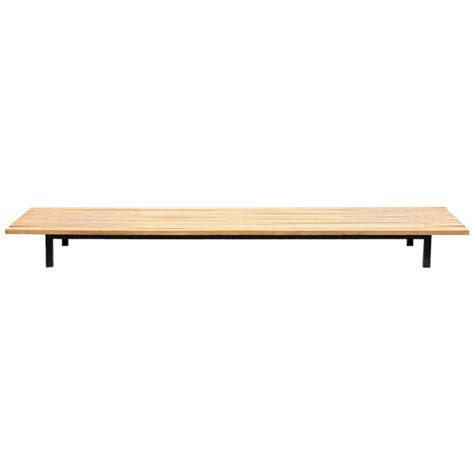 charlotte bench charlotte perriand bench in oak for sale at 1stdibs