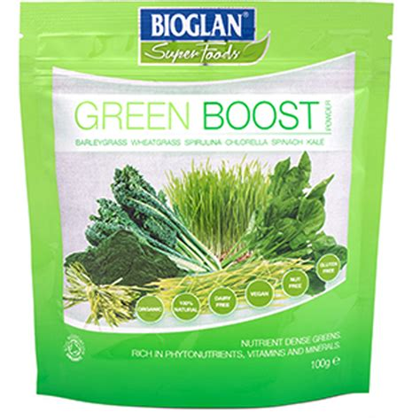Poppers Detox by Bioglan Superfoods Supergreens Green Boost 100g Buy