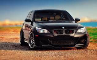 Bmw M5 Wallpaper Bmw M5 E60 Black Tuning Wallpaper
