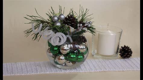 como decorar un centro de mesa de navidad como hacer un centro de mesa navide 209 o youtube