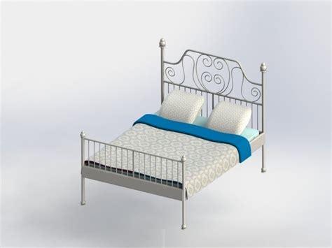 bett 3d bed bett 3d model stl dwg sldprt sldasm slddrw