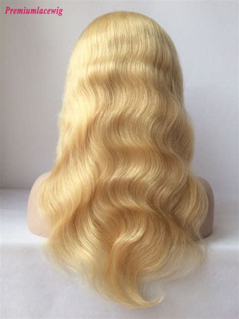 hair color 613 color 613 lace wig wave hair 16inch