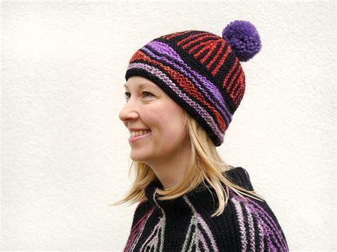 artist hat pattern art deco hat knitting pattern
