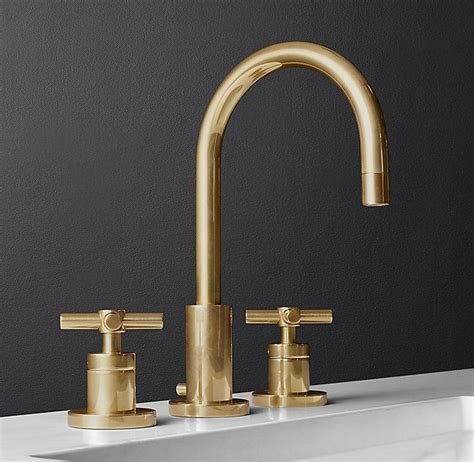 sutton cross handle 8 quot widespread faucet i navy