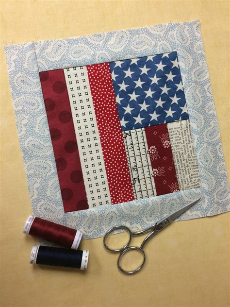 Flag Quilt Pattern by Flag Quilt Block Tutorial Free On Craftsy