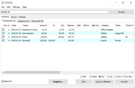 format csv file online qif2csv convert qif to csv excel propersoft