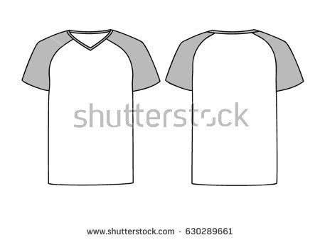 V Neck Shirt Template Templates Data Collar T Shirt Design Template