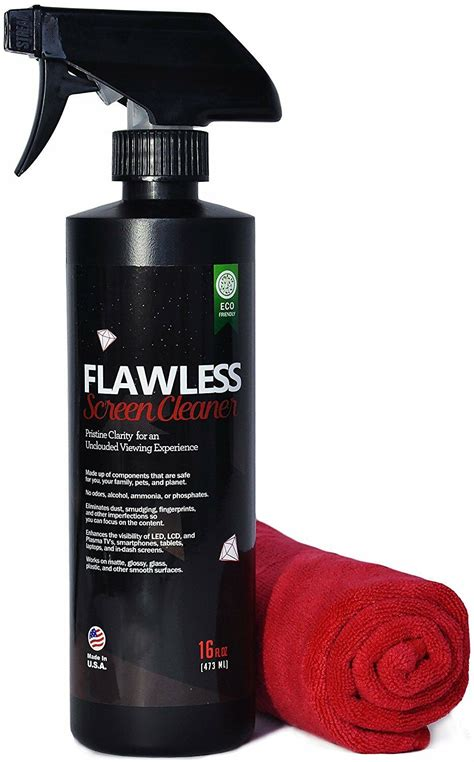 Micro Fiber Cleaner by Screen Cleaner Spray Bottle With Microfiber Cloth By