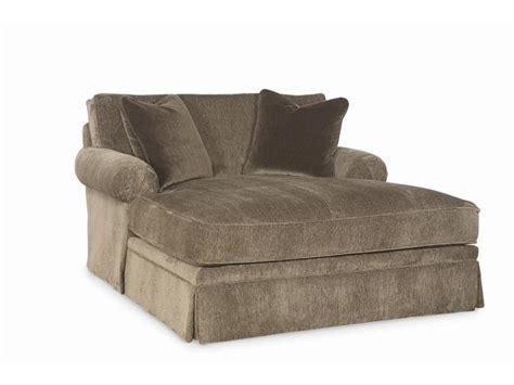double chaise lounge indoor furniture bedroom wide chaise lounge chairs which are made of brown
