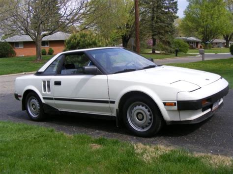 toyota california 1985 toyota mr2 california rust free survivor 106k miles