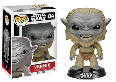 Funko 84 Varmik Wars pop funko the awakens gets a phase 2 of pop figures inc han and princess leia