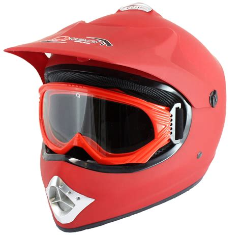 motocross helmets for kids childrens kids motocross atv matt crash helmet goggles