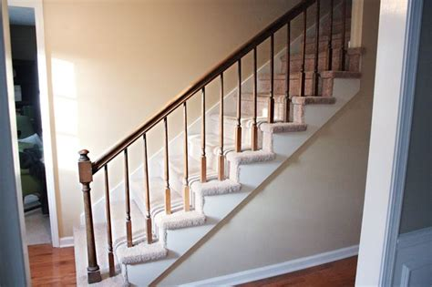 how to paint stair banisters railings stair railing house ideas pinterest