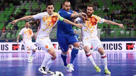 directo futbol sala resumen y resultado del espa 241 a vs azerbaiy 225 n en directo