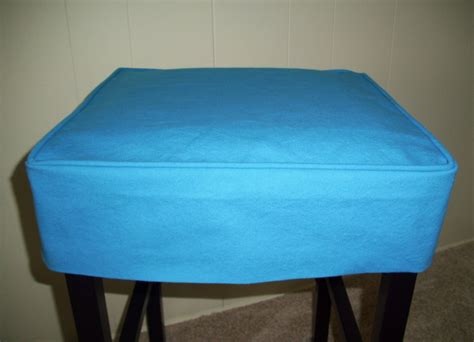 slipcovers for stools square barstool slipcover turquoise canvas bar stool cover