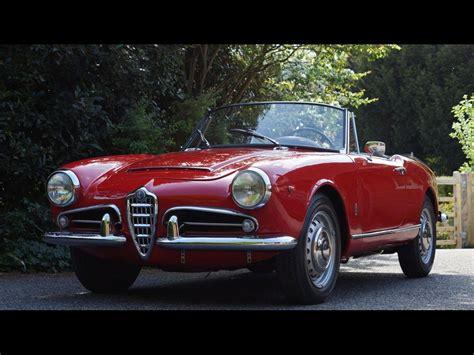 alfa romeo giulia for sale uk 1963 alfa romeo giulia spider for sale classic cars for sale uk