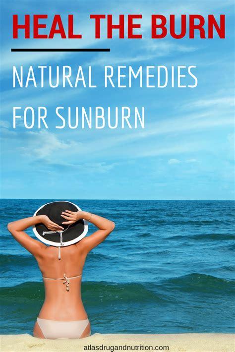 How To Heal Rug Burn On Fast by Heal The Burn 9 Remedies For Sunburnatlas