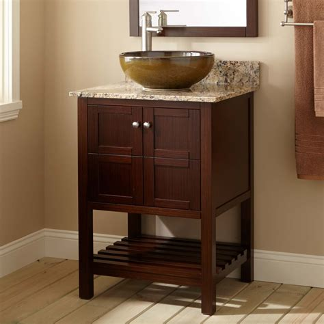 24 vessel sink vanity 24 quot everett vessel sink vanity wenge bathroom