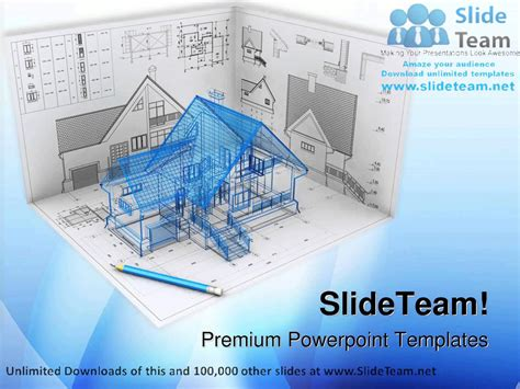 ppt themes architecture home project architecture powerpoint templates themes and