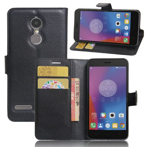 Lenovo K6 Power Wallet Leather Flip Cover Casing Dompet Kulit luxury wallet style pu leather for lenovo k6 5 0 inch power with card holders smart stand