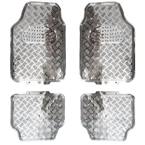 Auto Fussmatten Entsorgen by Riffelblech Look Tuning Fu 223 Matten Chrom Aluminium Style