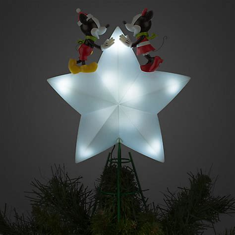 mickey and minnie christmas tree topper disney store mickey and minnie mouse tree topper 2015 light up