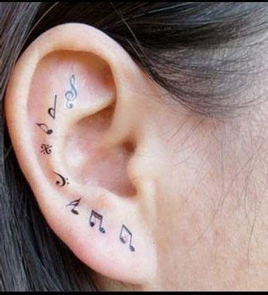 inner ear tattoo designs 1000 ideas about new designs on rising