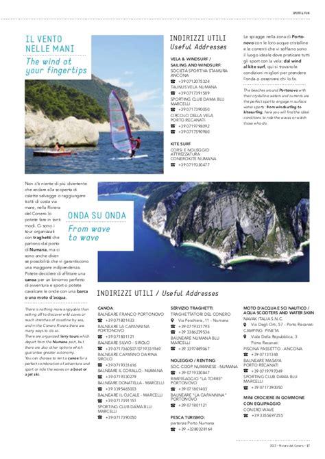 lega navale porto recanati riviera conero guida ufficiale 2013