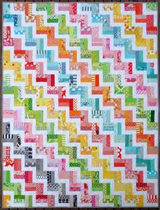 zig zag rail fence quilt pattern pdf by pepper quilts
